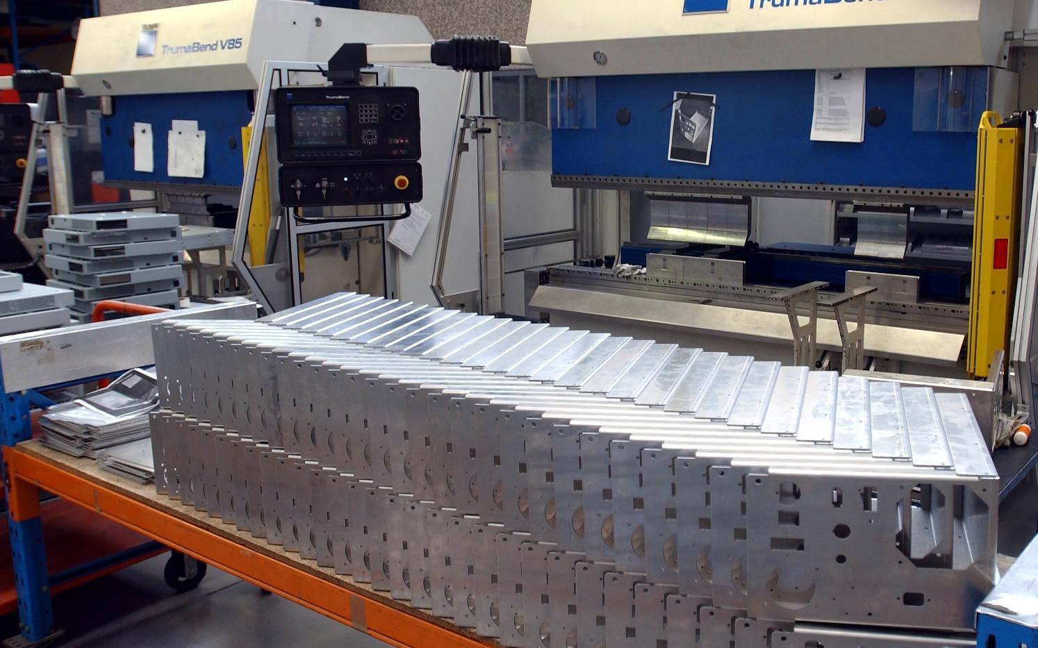 Interfab Press Brakes Folding Sheetmetal Components