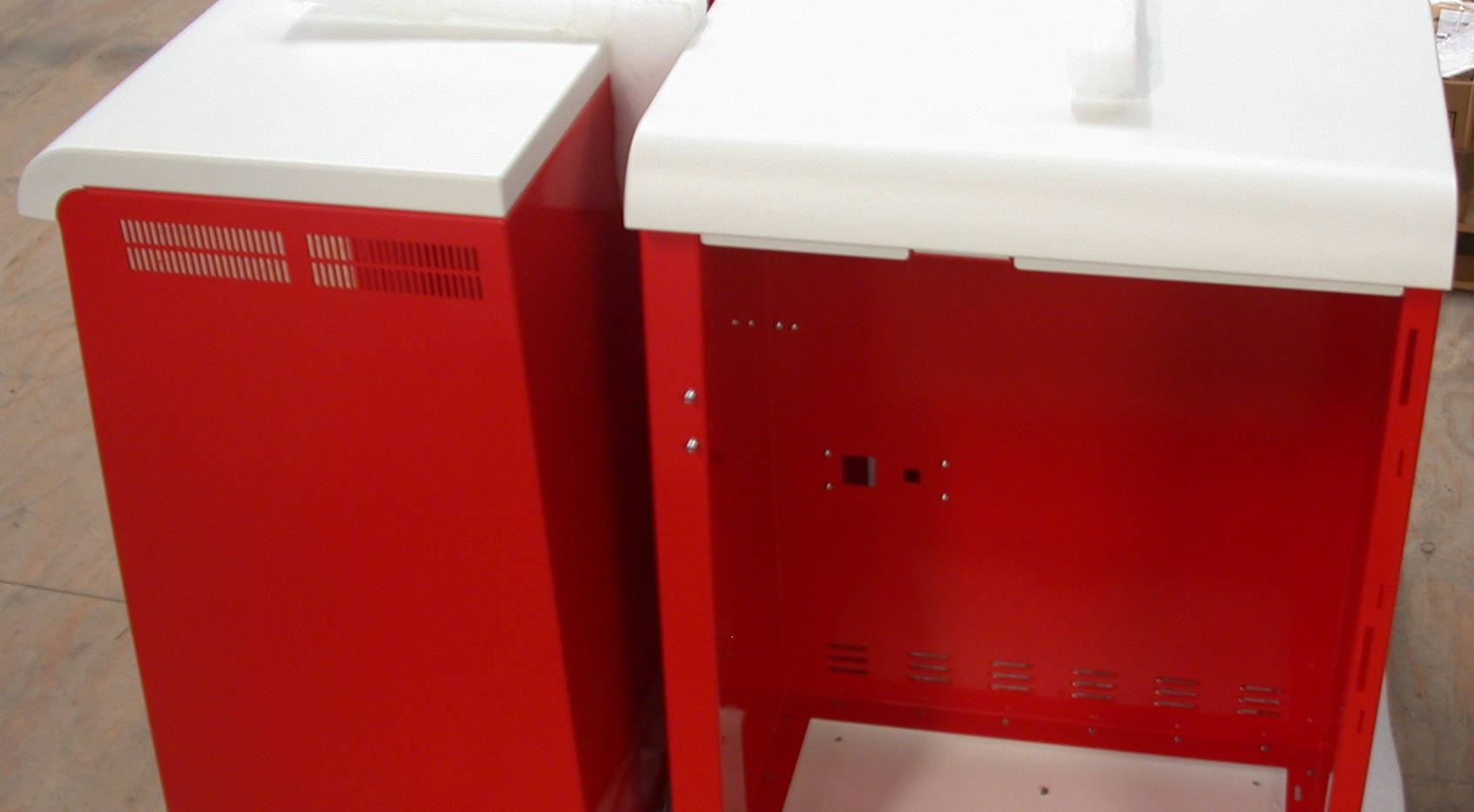 Powder Coated Managed by Interfab for Sheet Metal Enclosures