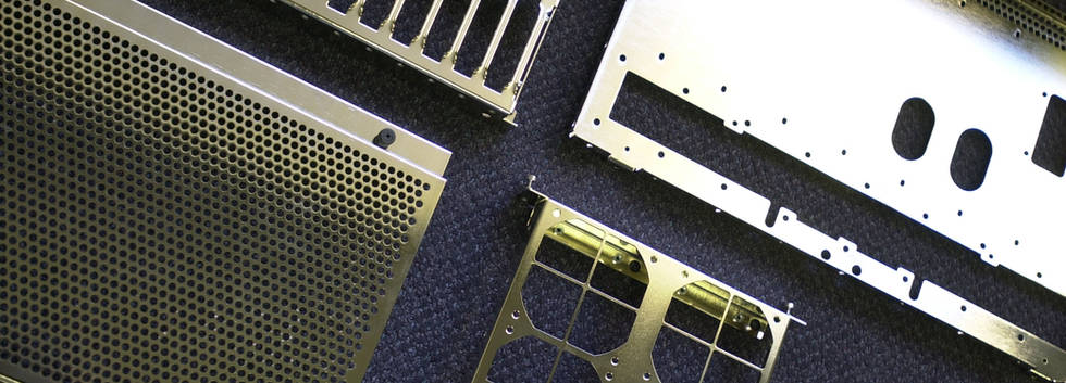 Various Sheet Metal Manufactured & Plated Parts