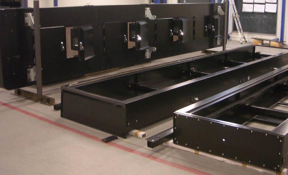 Large Sheet Metal Fabrication by Interfab