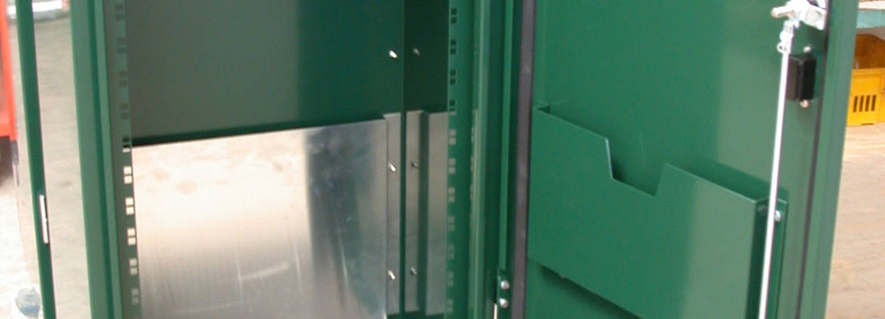 Powder Coated and Assembled Electrical Cabinet