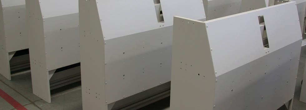 Powder Coating Sheet Metal Fabrications