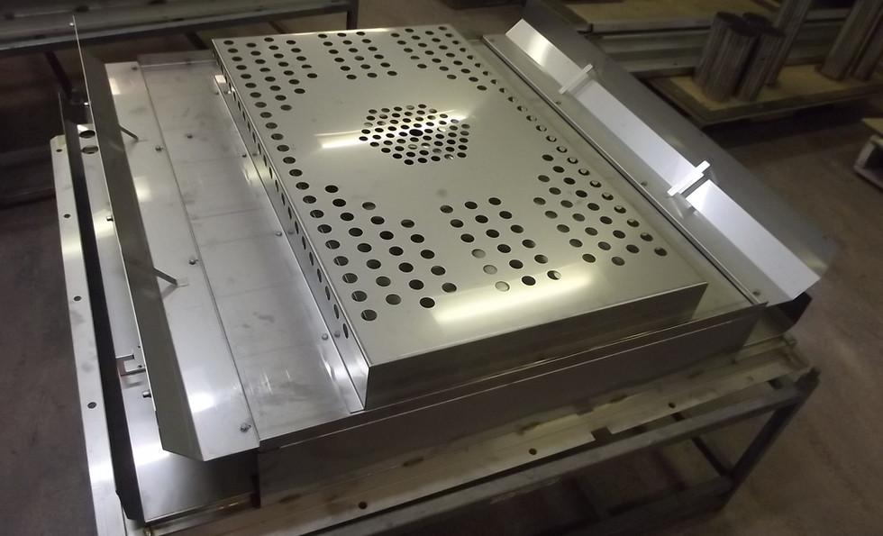 Stainless Steel Sheet Metal Fabrications at Interfab