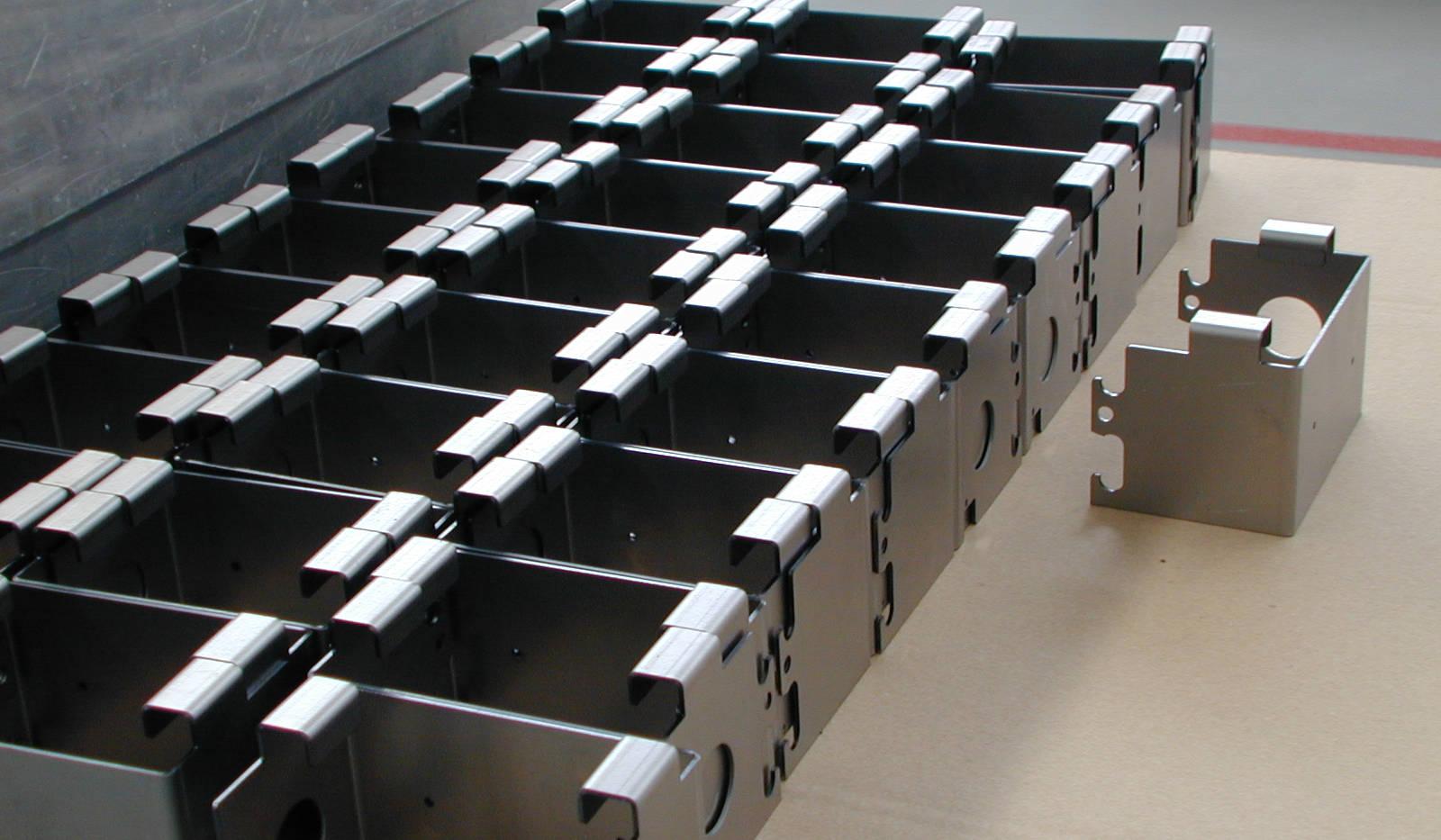 Sheetmetal Cut and Fold - Ready for Welding