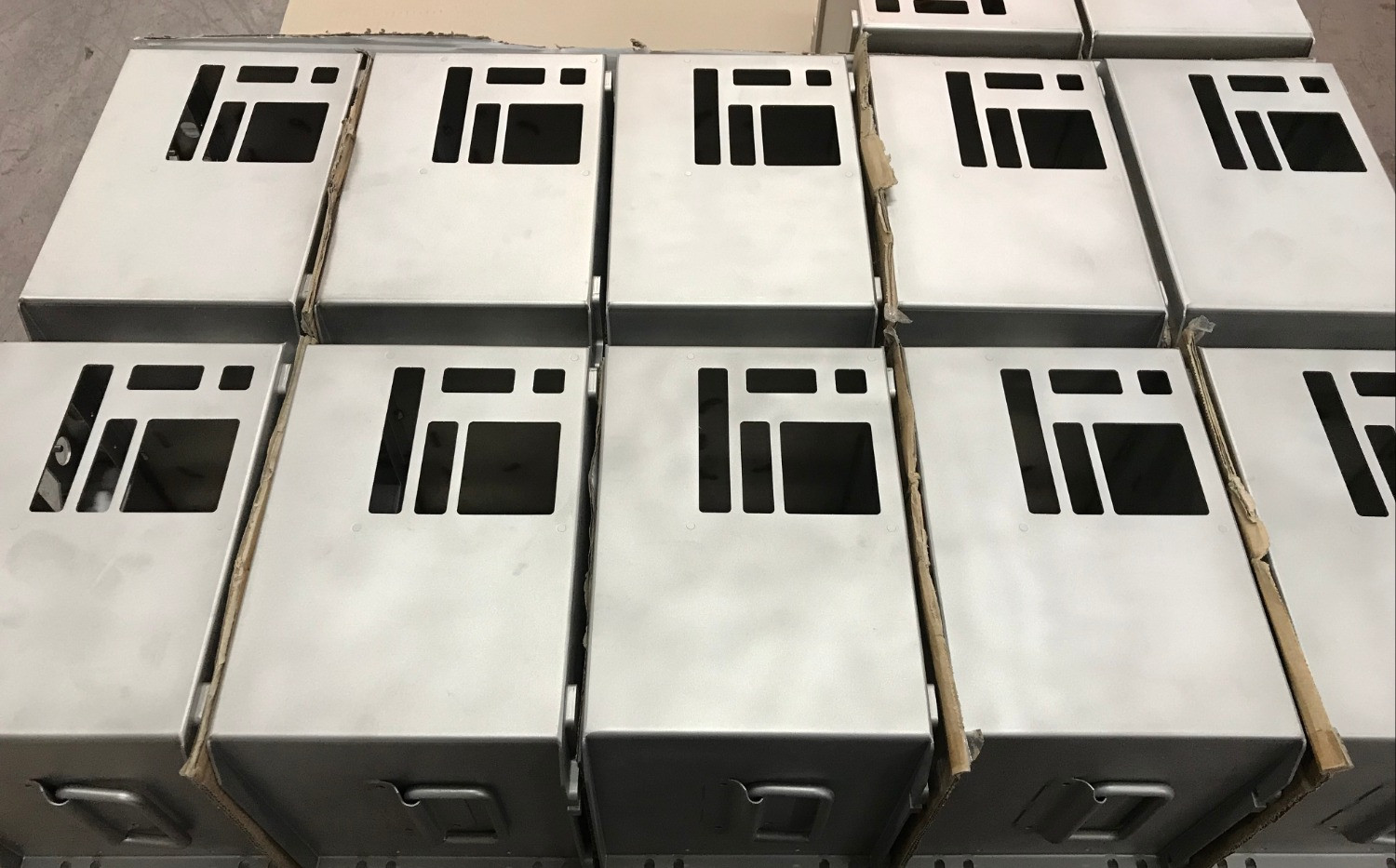 Welded and Finished Stainless Enclosures