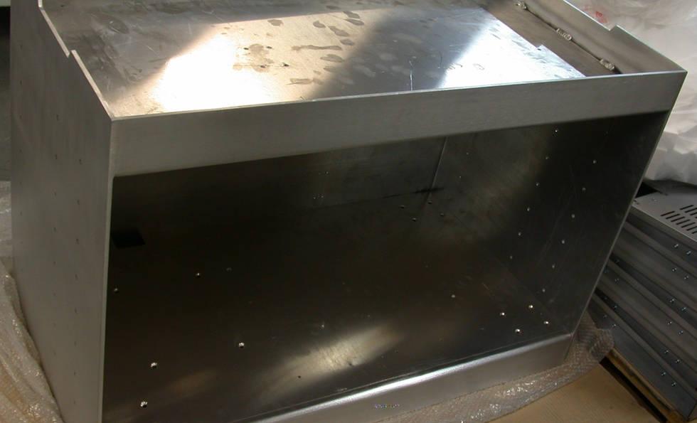 Aluminium Fabrication of Enclusore