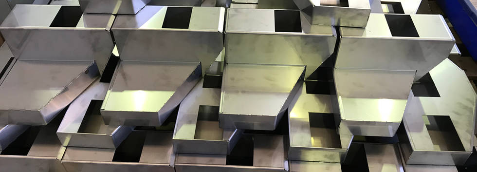 Stainless Steel Sheetmetal Laser Cut, Fold and Assembled
