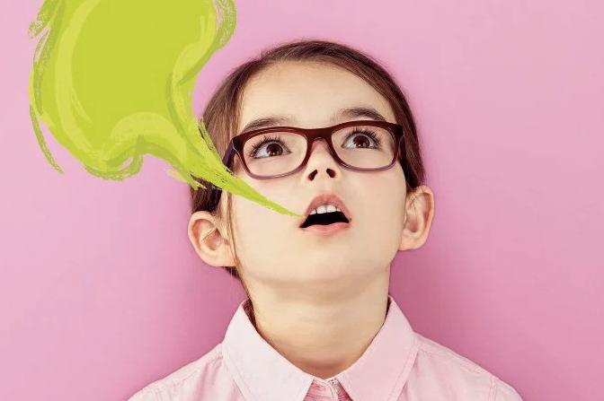 Crianças também têm mau hálito