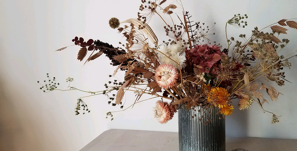 Dried Floral Arranging