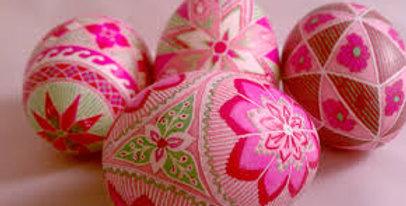 Pysanky Egg Dyeing