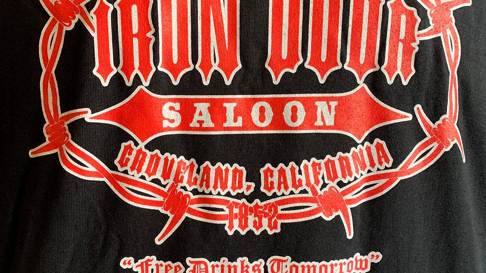 """Iron Door """"Best bar I've been thrown out of"""" T-shirt"""