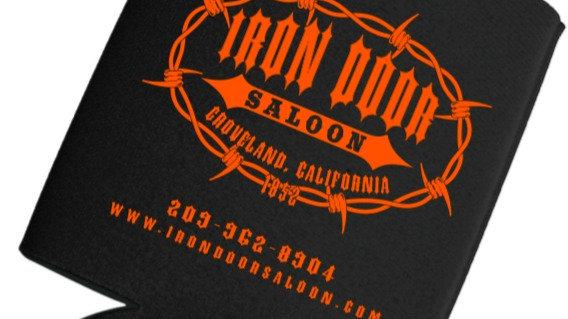 Iron Door Saloon Beer Koozie