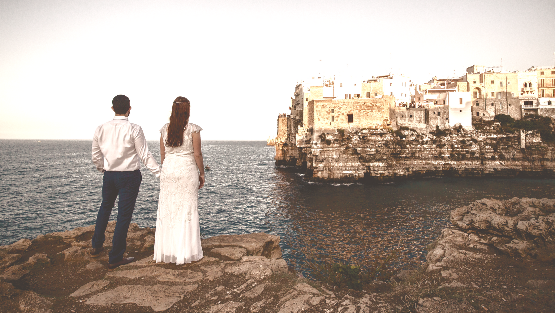 Elopement with view