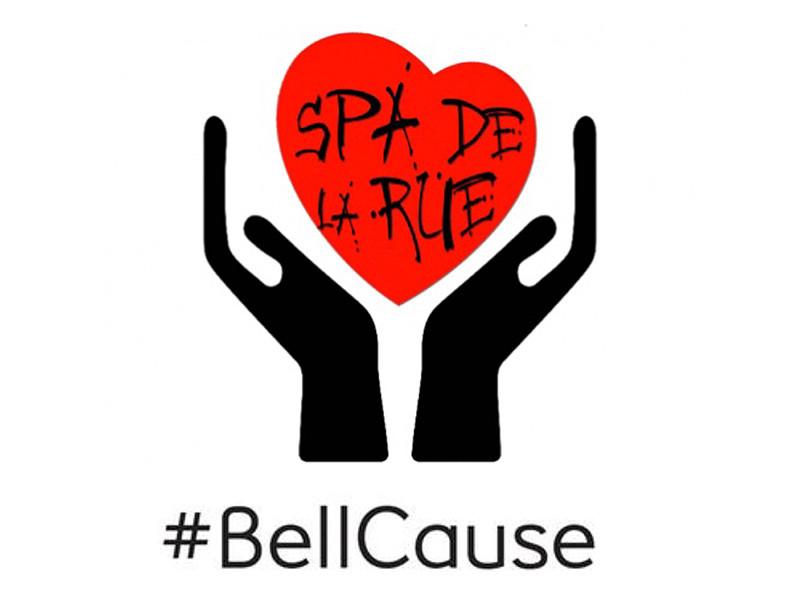 Le Spa de la rue soutient BellCause pour la cause