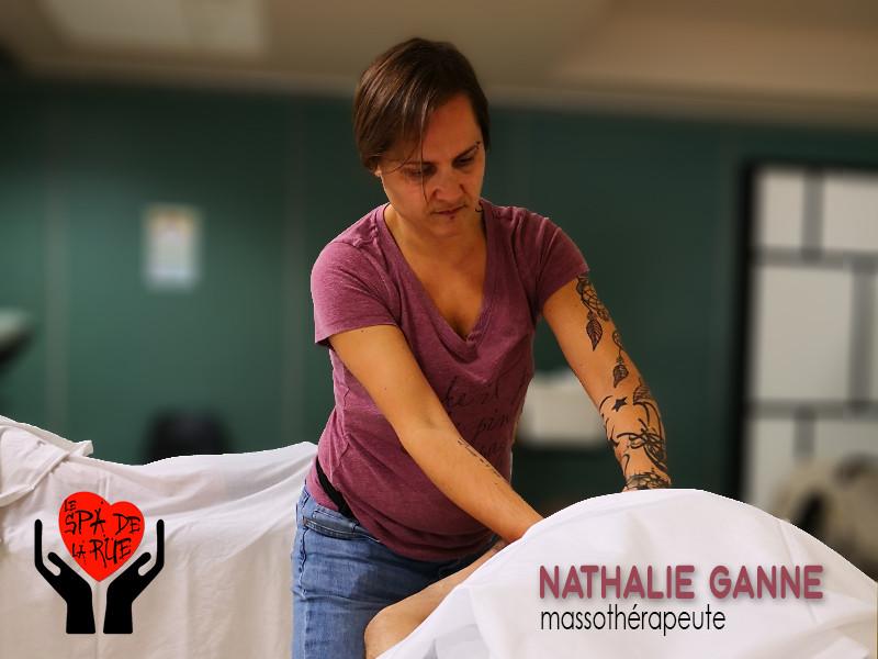 Nathalie Ganne, massothérapeute