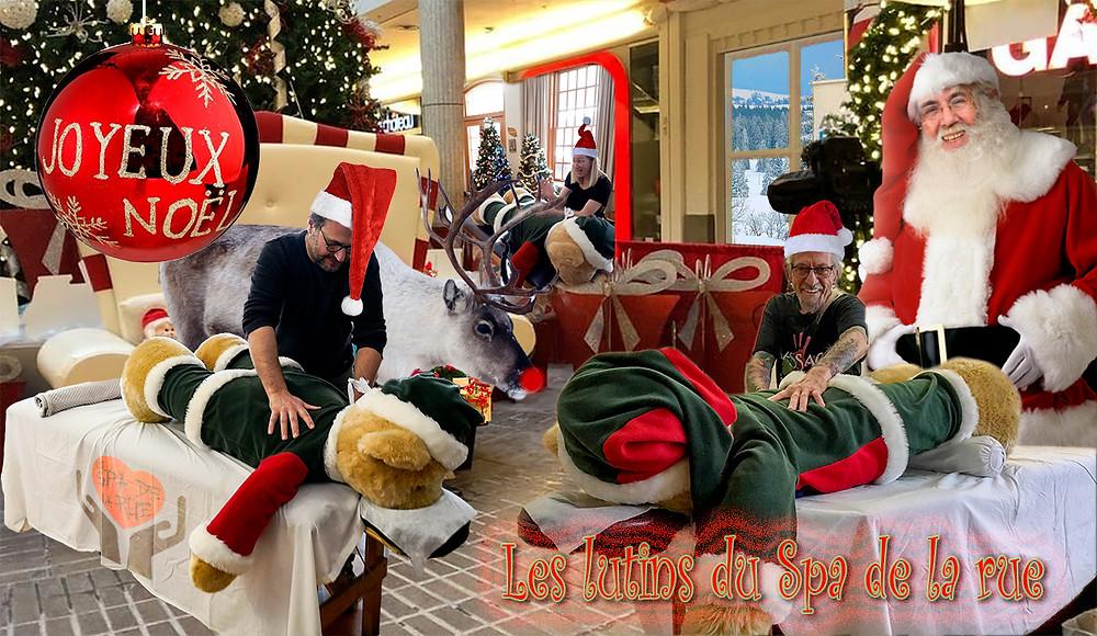 Un très joyeux Noël de la part de toute l'équipe du Spa de la rue