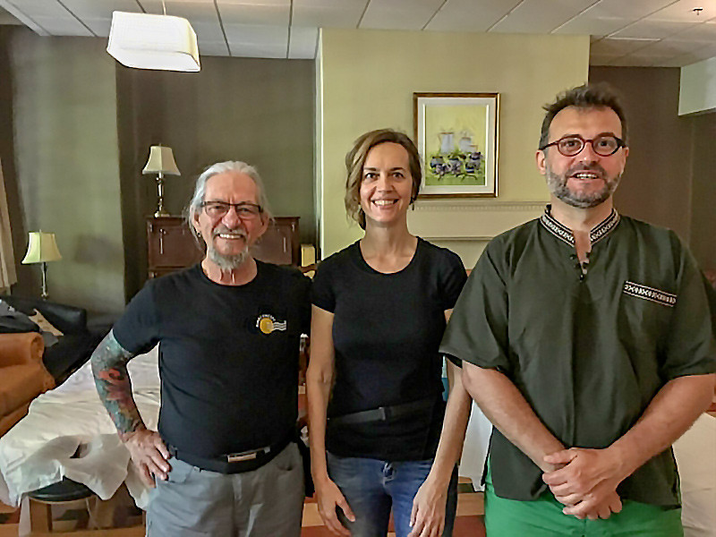 Gérald Lemay, Hélène Gratton et Jérôme LeFrançois