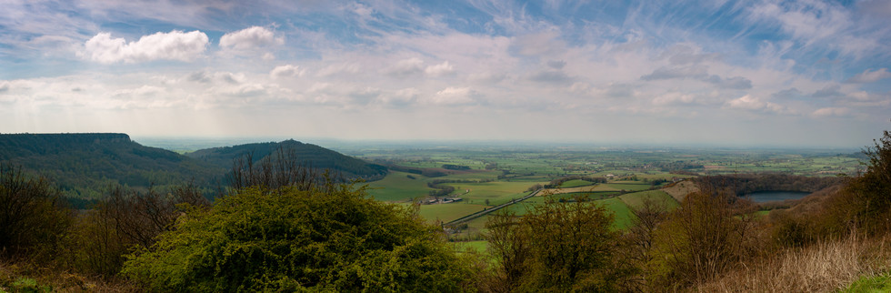 "Sutton Bank ""The Finest View in Yorkshire"""