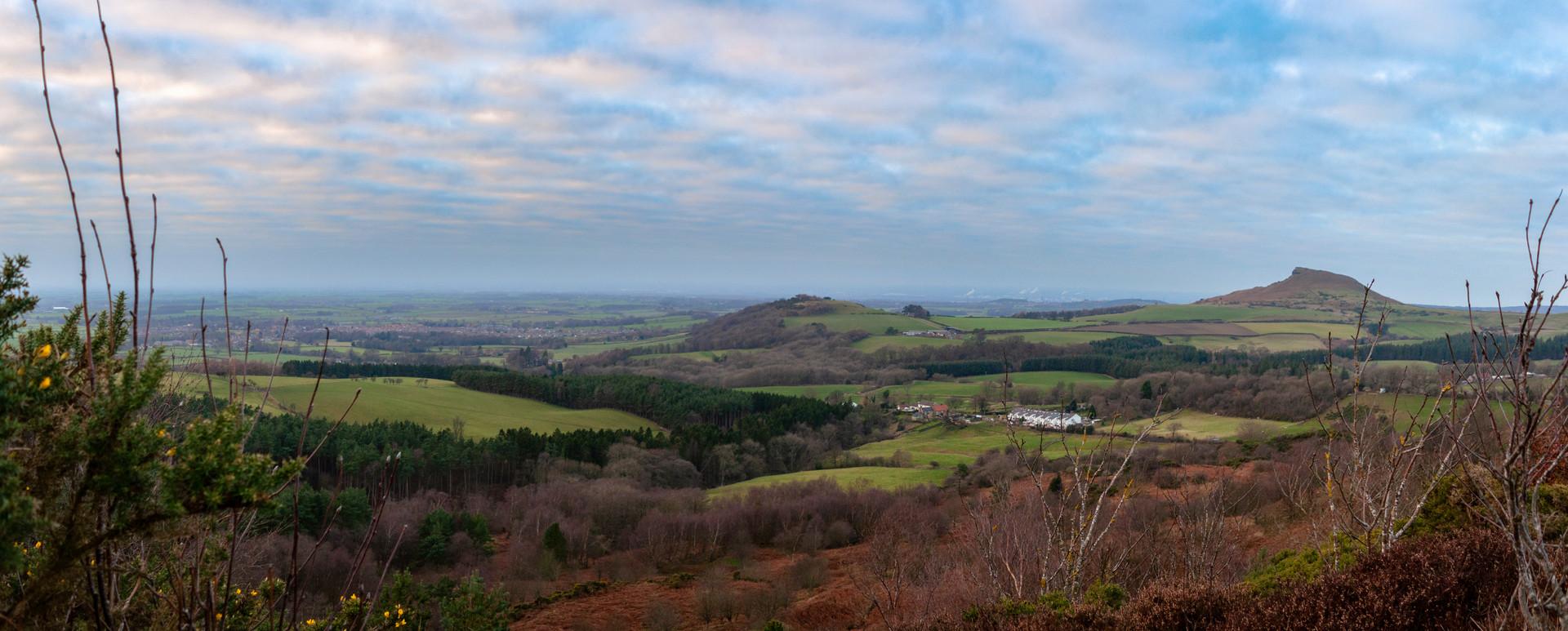 Roseberry Topping Panorama
