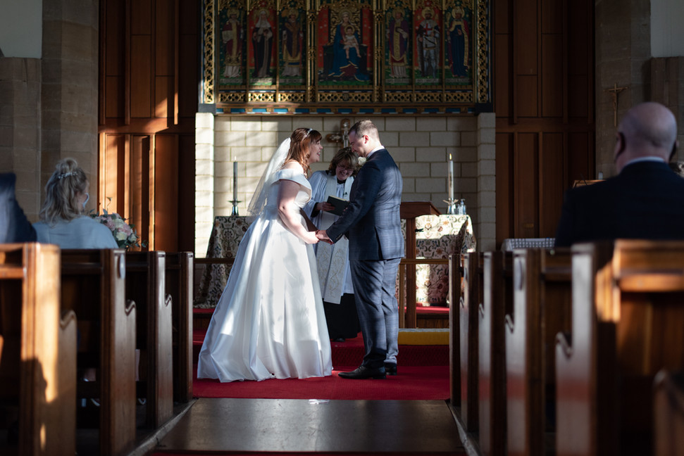 Hannah & Ben, St Peters Church, Redcar