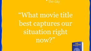 What movie title best capture the situation right now?
