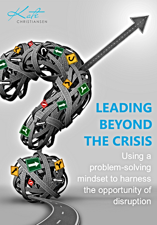 Leading beyond the crisis - By Kate Chri
