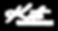 White Kate Christiansen logo with clear