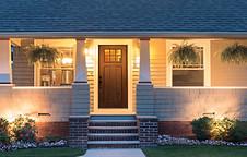 Craftsman Style Entrance Door