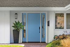 Solid Entrance Impact Door