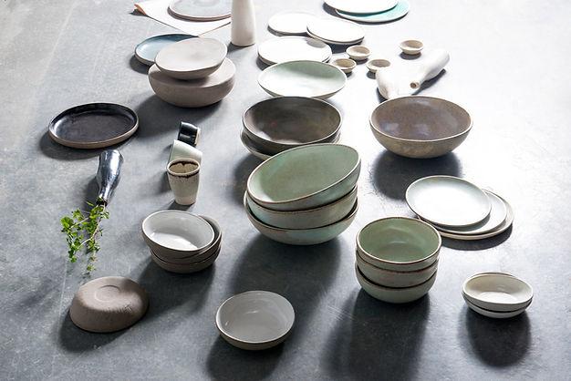 Ceramic Bowls and Plates
