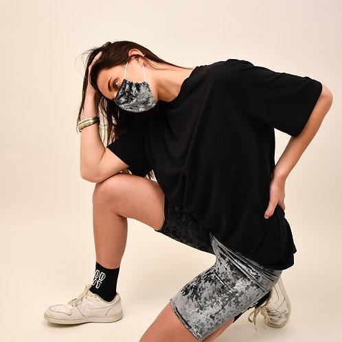 Velvet Biker Shorts (with Mask)