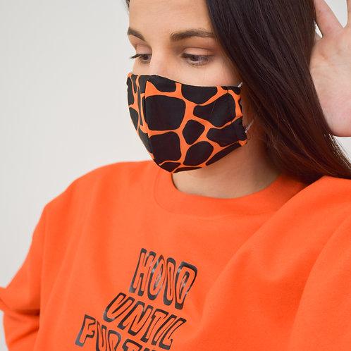 Giraffe Biker Shorts with Mask