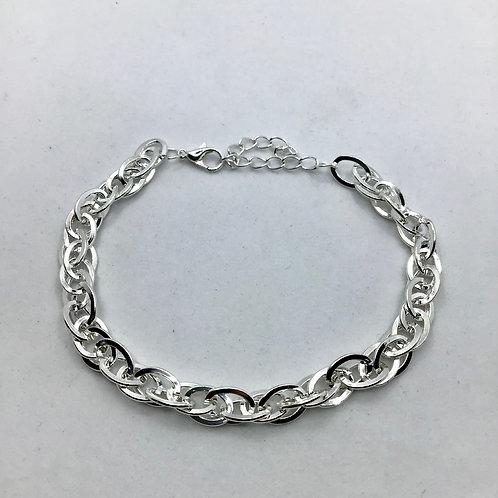 Ultra Shiny Silver Anklet