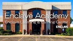 Enclave Academy Logotype with Enclave Bu