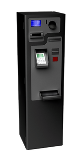 PerfectMoney PEM REC Bezahlautomat in Schwarz