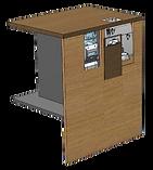 PerfectMoney Bezahlautomat PM UT 820 - Banknotenmodul geöffnet.