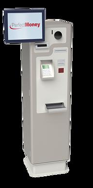 PerfectMoney Bezahlautomat PM REC XL in Grau