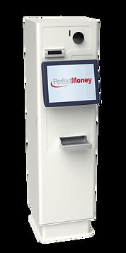 PerfectMoney PEM REC Bezahlautomat in Weiß