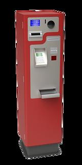 PerfectMoney Bezahlautomat Standgerät PM REC 210 in Rot