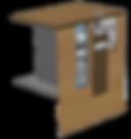 Banknotenrecycler PM UT 822 eingebaut