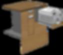 PM UT 822 Münzrecycler eingebaut