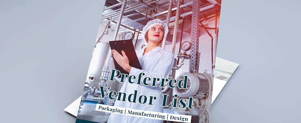 Preferred Vendor List by Freelance Formulations