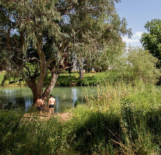 Lunch break, kibbutz Kfar Blum.jpg