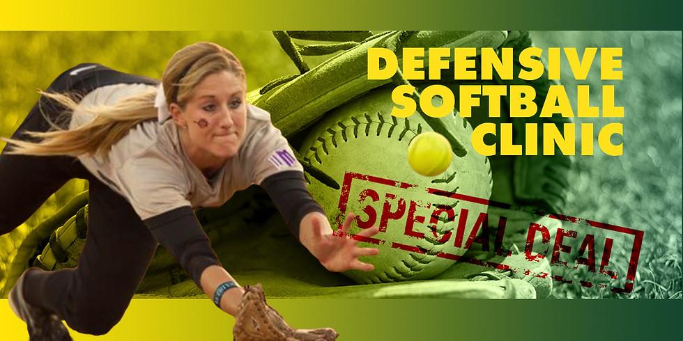 May Defensive Softball Clinic