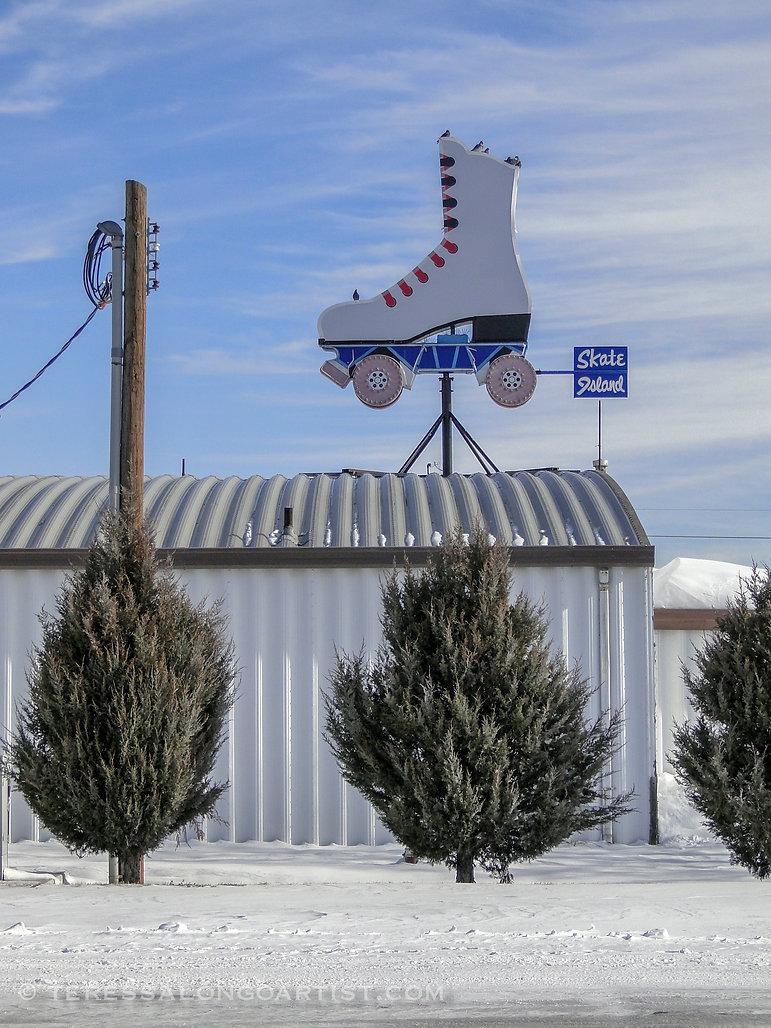 Skate Island in Grand Island, Nebraska