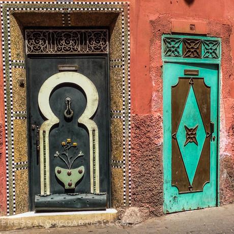 Two Doors Marrakesh   2016