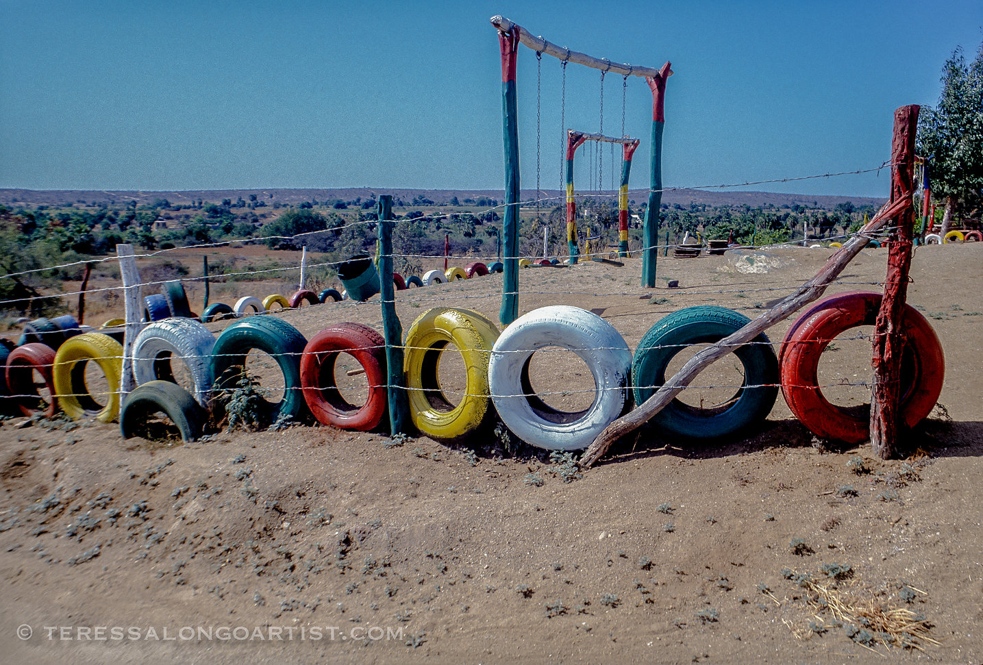 Playground outside Todas Santos, Mexico