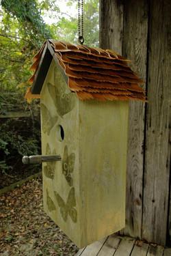 Wood Fork Bird House