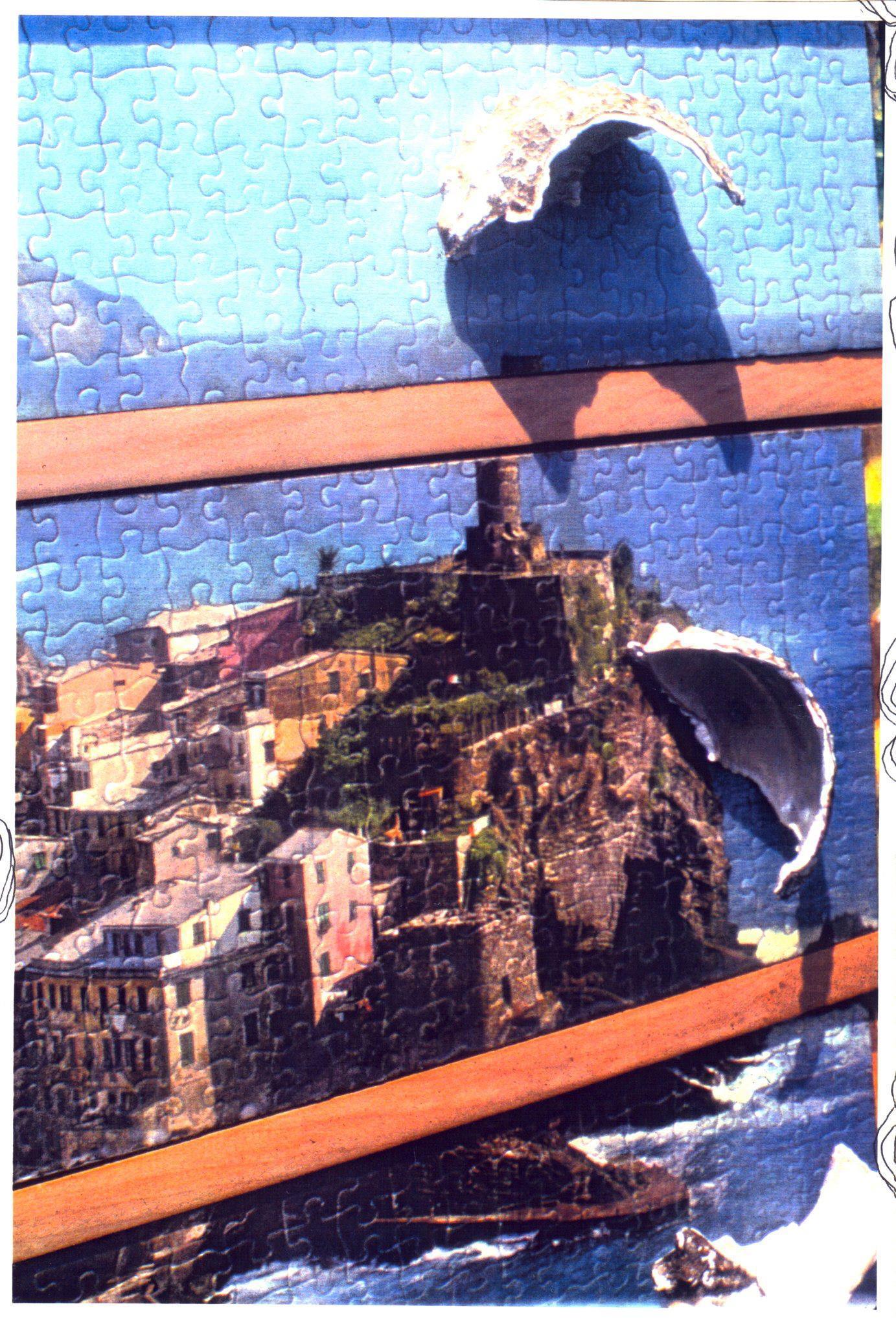 Detail 1000 piece puzzle dresser
