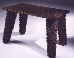 Sugar Maple Pods and Pennies Table